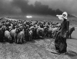 A Desert on Fire, an exhibition of works by Sebastião Salgado.