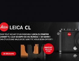 Promotion d'été sur le Leica CL Kit