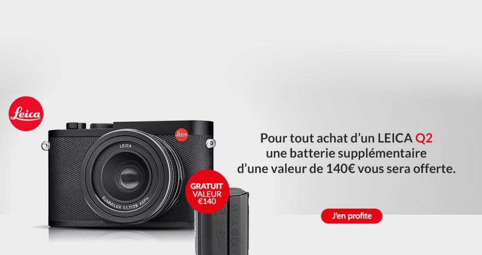 Promotion d'été sur le Leica Q2